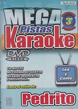 Pedrito Fernandez Mega Pistas Karaoke New Nuevo Sealed