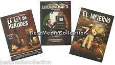 3 PK La Dictadura Perfecta y El Infierno La Ley De Herodes DVD NEW Luis Estrada