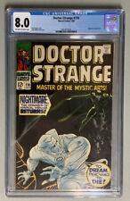 🔥Key MCU Slabs🔥Doctor Strange #170 (1968)🔥CGC 8.0 - Nightmare Appearance