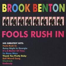 Fools Rush in 2005 by Brook Benton