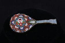 Brooch Fashion 7393 Vintage Mosaic Mandolin Italy