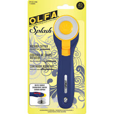 OLFA SPLASH 45 mm ROTARY CUTTER ~ Navy Blue ~ Ships Daily from Texas