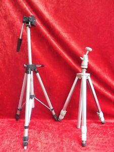 2 old Tripods__Telescopes - Camera Stand __ Linhof And Silk __