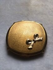 Stratton Compact With Bow Decoration
