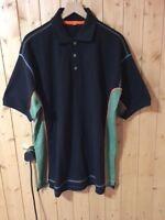 3 X UNEEK Mens Polo Shirt Size 3XL Black BUY 2 GET 1 FREE