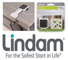 Baby Safety Drower Cupboard Xtra Guard Dual Locking Lock Appliance Latch Lindam