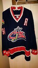 NHL pro Columbus Blue Jacket jersey size 56
