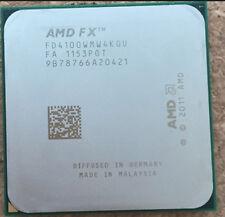 AMD FX-4100 CPU Processor FD4100WMW4KGU 3.6GHz AM3 8M Cache 95W 4-Core