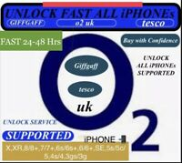 iPhone X,XR,8,7,6s,6,SE,5 To 3gs✅O2/GIFFGAFF/tesco Uk✅Unlocking Fast✅24-48Hrs✅✅✅