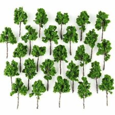 25pcs TT Scale 1:120 to 1:250 Model Tree for Railroad Build Park Street Layout