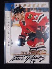 Steve Dubinsky 1998 Pinnacle Be A Player Autograph