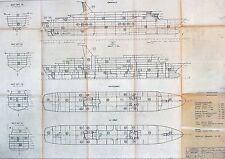 3 CUNARD COUNTESS & PRINCESS Shipyard Blueprints - NAUTIQUES sHiPs WORLDWIDE