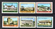 ROMANIA MNH 1979 SG4464-4469 CONTEMPORARY ARCHITECTURE