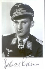Knights Cross signed photo WWII WW2 Luftwaffe pilot KREMS