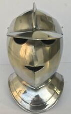 COLLECTIBLES MEDIEVAL EUROPEAN CLOSED ARMOUR HELMET KNIGHTS REPLICA ITEM GIFT