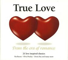 TRUE LOVE FROM THE ERA OF ROMANCE CD - PAT BOONE, ELVIS, DORIS DAY & MORE