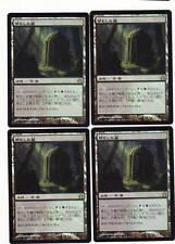 MTG 4x Overgrown Tomb Foil Japanese RR MT