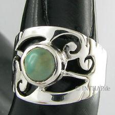Markenlose Ringe mit Türkis echten Edelsteinen