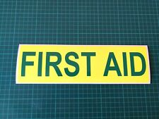 FIRST AID MAGNET Rescue Mountain Ambulance 4X4 Emergency Service Magnets 300mm