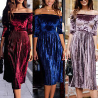 Summer Women Lady Long Formal Prom Dress Cocktail Party Ball Gown Evening Dress