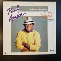 "Paul Anka ""Cantando En Español"" Vinyl Record LP"