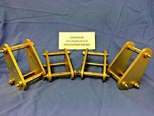 TOYOTA LANDCRUISER 60 Series 4 x EXTENDED SHACKLES KIT (Four Shackles In Kit)