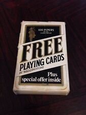 Fantastic Pack Of 100 Pipers Scotch Whiskey Playing Cards