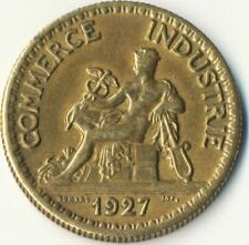 COIN / FRANCE / 50 CENTIMES  1927  CHAMBERS DE COMMERCE  #WT7896