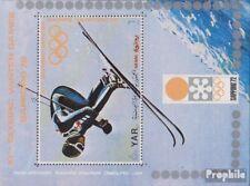 yémen du nord (arabes rep.) Bloc 172 (complète edition) neuf avec gomme original