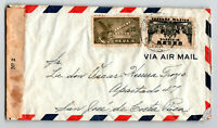 Mexico 1945 Censor Airmail Cover to Costa Rica / Light Creasing - Z13632