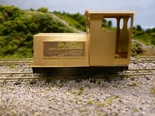 009 Etched Brass Diesel Loco Bodyshell for the kato 11-103tram chassis.Kit No 71
