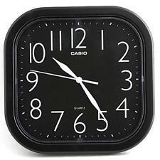 Casio Analog Quartz Black Resin Wall Clock IQ02-1R