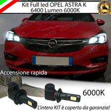 KIT FULL LED ABBAGLIANTI OPEL ASTRA K LAMPADE LED H1 NO ERROR 6000K