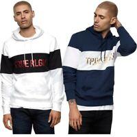 True Religion Men's Color Block Metallic Logo Hoodie Sweatshirt
