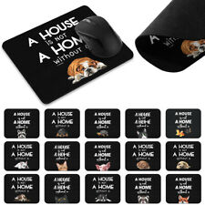 Animal Gaming Mouse Mice Mat Pad Non-Slip Rectangle Mousepad For Computer PC