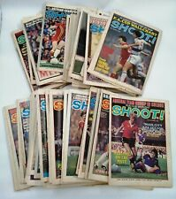 Vintage Job lot 65+ SHOOT! Football Magazines. Mixed 1977-1978-1979 - PRE OWNED