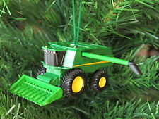 John Deere Combine Harvester Christmas Tree Ornament