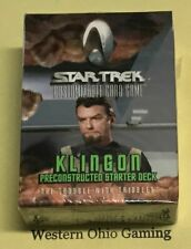 Star Trek Customizable Card Game Klingon Starter Deck The Trouble With Tribbles