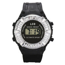 Children Boys Girls Analog Digital Sport LED Electronic Wrist Watch Unisex CA