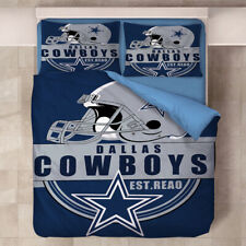 Dallas Cowboys Design Bedding Set Duvet Cover & Pillowcases 3PCS Quilt Cover