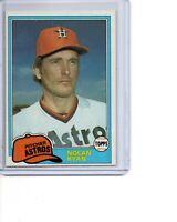 1981 Topps #240 Nolan Ryan Houston Astros HOF Strikeout King SEE SCANS OC