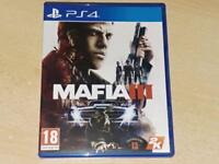 Mafia III 3 PS4 Playstation 4 **FREE UK POSTAGE**