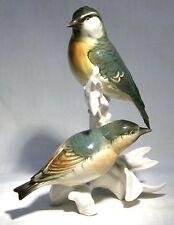 Karl Ens Volkstedt Bird Figura GRUPPO CARDELLINO