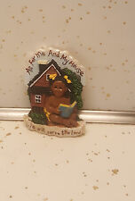 KVK In His Hands Magnet For Me and My House/African American/Black Americana