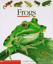 Frogs (First Discovery Books) Scholastic Books, Jeunesse, Gallimard Spiral-boun