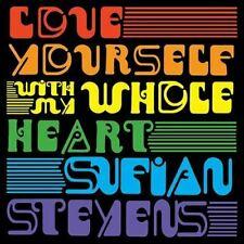 Sufjan Stevens Love Yourself / With My Whole Heart 7 Inch Record LP Vinyl