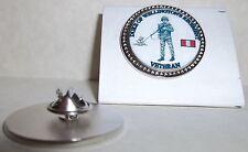 HM Armed Forces Duke of Wellington's Regiment Veteran Lapel pin badge.