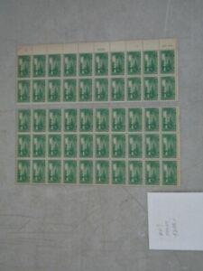 Nystamps G US Stamp # 617 Mint OG NH sheet $288 as singles & PB