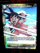 No Openings Son Goku FOIL Dragon Ball Super CARD BT3-090 Uncommon UC DBS NM/M