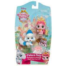 Whisker Haven Tales Palace Pets Pop and Stick 2 Pack - Pumpkin and Rouge *NEW*